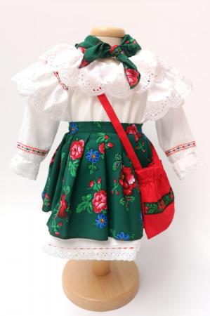 Costum Traditional Fetite 0-12 luni Model III [0]
