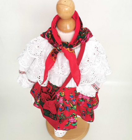 Costum Traditional Fetite 0-12 luni Model IV [2]
