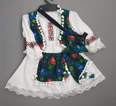 Costum Traditional Fetite 0-12 luni Model IV [1]