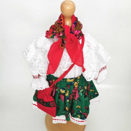 Costum Traditional Fetite 0-12 luni Mode V [0]