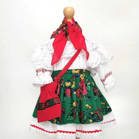 Costum Traditional Fetite 0-12 luni Mode V [1]