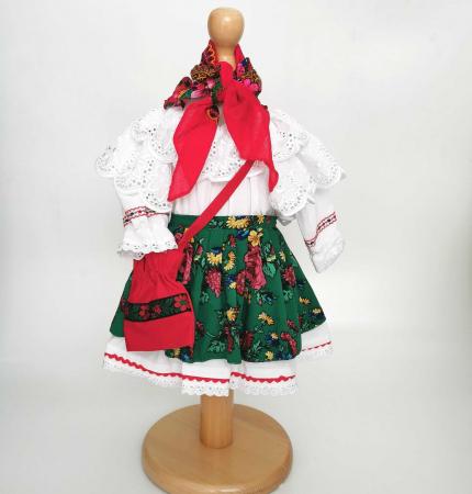 Costum Traditional Fetite 0-12 luni Mode V [3]
