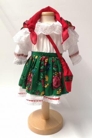Costum Traditional Fetite Verde – 4 piese (1-6 ani )4