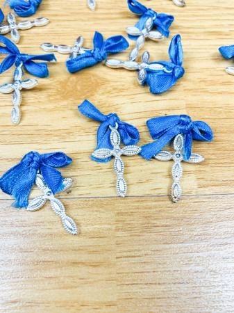 Cruciulite botez - albastru [2]