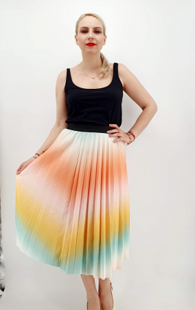 Fusta plisata multicolor [0]