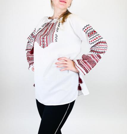 Ie Traditionala Valentina 2 - tip tesut la razboi [1]