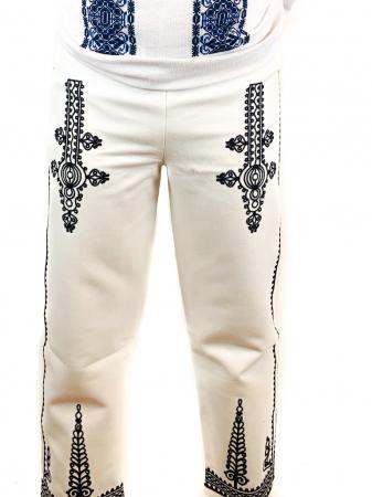 Pantaloni cu broderie pentru barbati [0]
