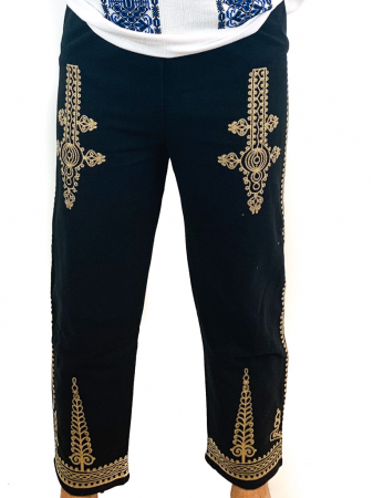 Pantaloni cu broderie pentru barbati 2 [0]