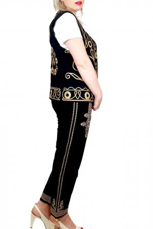 Pantaloni cu broderie Unisex [3]