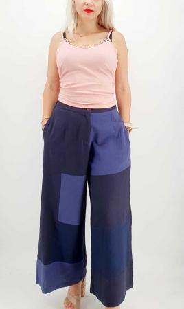 Pantaloni Salvari de vara bleumarin [0]