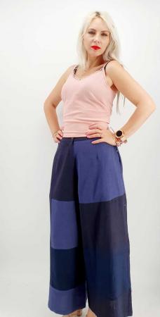 Pantaloni Salvari de vara bleumarin [1]