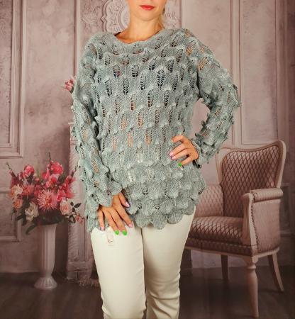 Pulover dama tricotat 3D - Sorana 2 [0]
