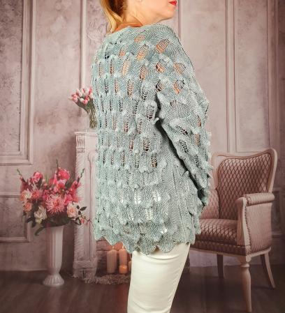 Pulover dama tricotat 3D - Sorana 2 [1]