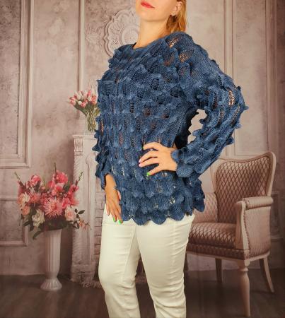 Pulover dama tricotat 3D - Sorana 4 [1]