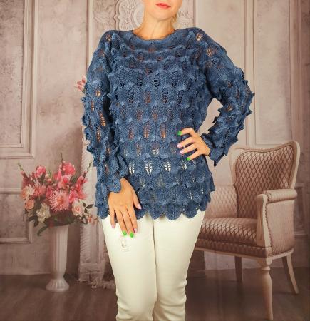 Pulover dama tricotat 3D - Sorana 4 [0]