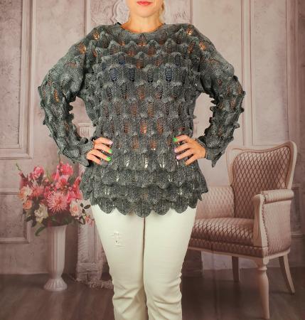 Pulover dama tricotat 3D - Sorana 5 [1]