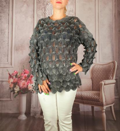 Pulover dama tricotat 3D - Sorana 5 [0]