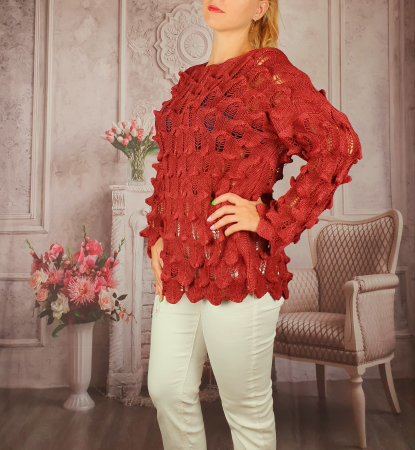 Pulover dama tricotat 3D - Sorana 7 [0]