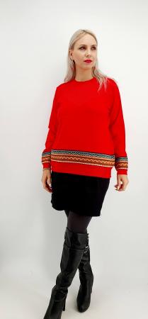 Pulover stilizat traditional - Diferite culori [0]