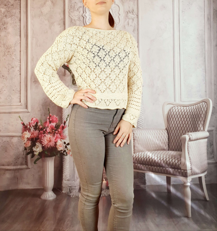 Pulover tricotat - Anita [1]