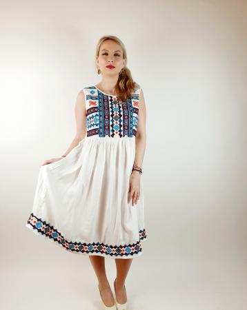 Rochie stilizata traditional Amalia0