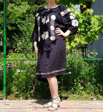 Rochie Traditionala Brodata Floarea Soarelui 3 [1]