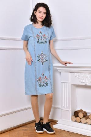Rochie din Denim traditionala Marita [4]