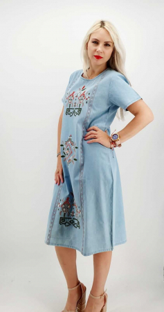Rochie din Denim traditionala Marita [1]
