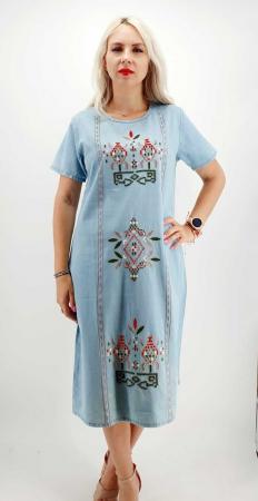 Rochie din Denim traditionala Marita [0]