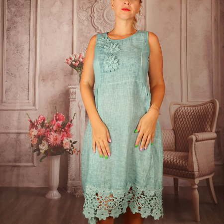Rochie din In - Paola 2 [1]