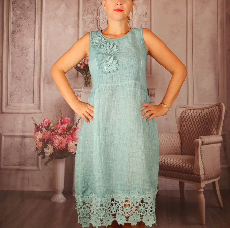Rochie din In - Paola 2 [0]