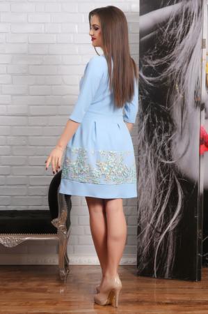 Rochie Eleganta cu Motive Florale Eva2
