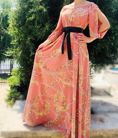 Rochie Lunga Camelia 4 [0]