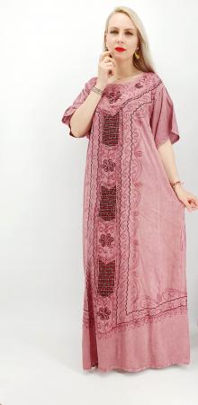 Rochie Lunga Brodata Miuta 34 [2]