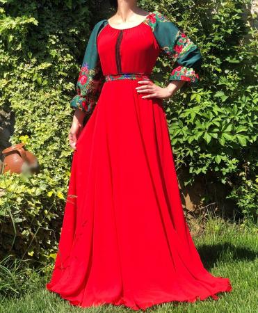 Rochie Stilizata cu motive traditionale Viorela [1]