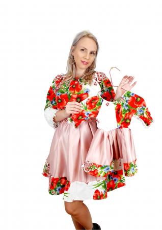 Set rochii Mama si Fiica 452