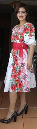 Rochie Traditionala stilizata cu maci [4]