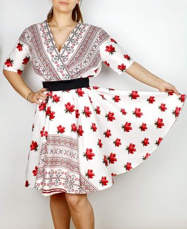 Rochie stilizata cu motive traditionale Madel 8 [1]