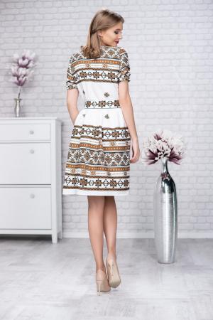 Rochie stilizata cu motive traditionale Madlen2