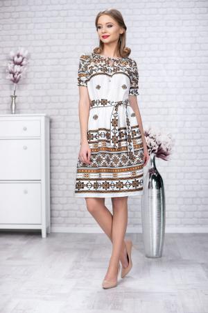 Rochie stilizata cu motive traditionale Madlen0