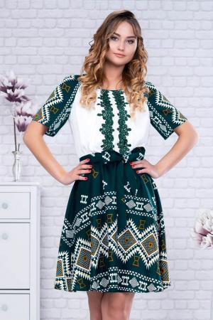 Rochie stilizata cu motive traditionale Misha [1]