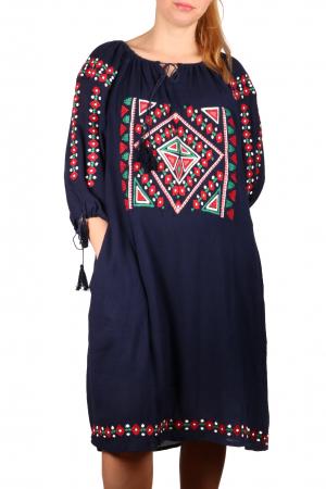 Rochie Traditionala Indigo [1]