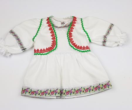 Rochita si Vesta Traditionale Fetite 0-6 luni1