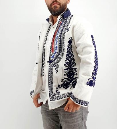 Sacou Traditional Barbati Alb 2 [1]