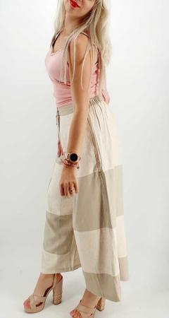 Pantaloni Salvari de vara Crem [2]