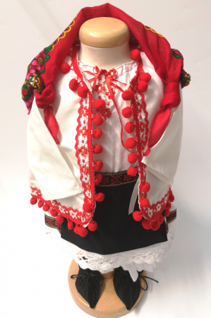 Set Botez Traditional – Delia – 2 piese / costumas si lumanare [2]