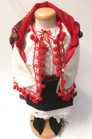 Set Botez Traditional – Delia – 4 piese / costumas , lumanare, trusou si cufar2