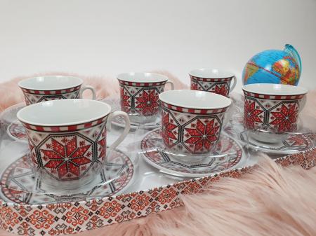 Set Cafea cu motive traditionale 2 [3]