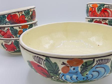 Set castroane traditional din ceramica de corund [5]