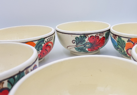 Set castroane traditional din ceramica de corund [4]